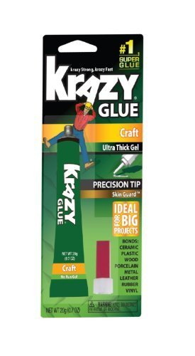 ELMERS Products 20G Krazy Glue Craft Gel (KG38136MR) by Elmer's by Elmer's