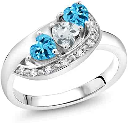 Garnet CZ Fantasy Elegant Modern Ring New .925 Sterling Silver Band Sizes 5-10