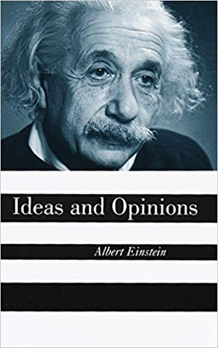 Ideas And Opinions Albert Einstein 9780517884409 Amazon