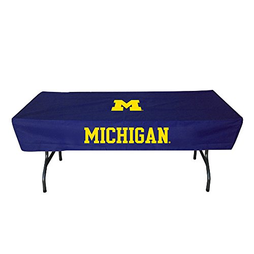 Rivalry Sports College Team Logo Michigan 6 Foot Table Cover