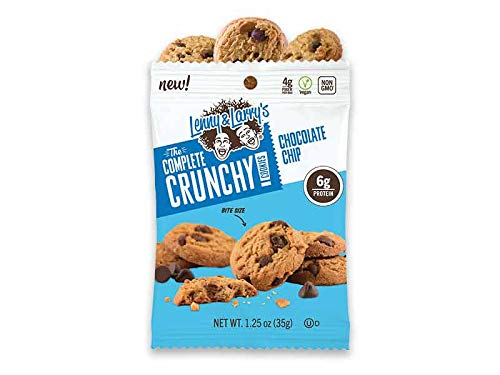 Lenny and Larrys The Complete Crunchy Cookie - NEW Bite Sized Plant Based Protein Cookies- 3 Variety, 4 of each flavor (12 pk) - Vegan - Non Gmo by Lenny and Larry (Image #1)
