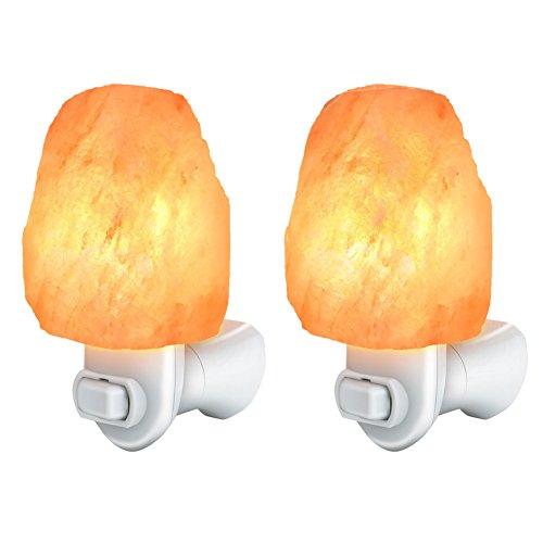 Cozyswan Salt Lamp Himalayan Rock Salt Light Glow Hand Carved - Import It All
