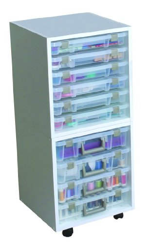 Art Bin Super Satchel Scrapbooking Storage Case Rack