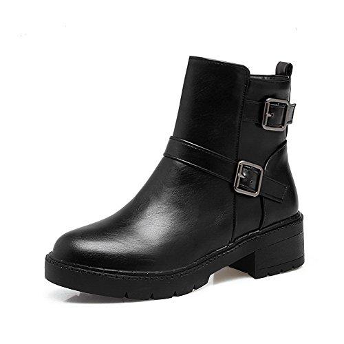 Inconnu 1to9mns02527 - Sandales Compensées Pour Femmes, Noir (noir), 35