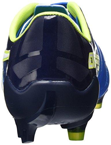 Puma Evospeed 1.5 Lth Fg, Botas de Fútbol Hombre Azul (Electric Blue Lemonade / Puma White / Peacoat 02)