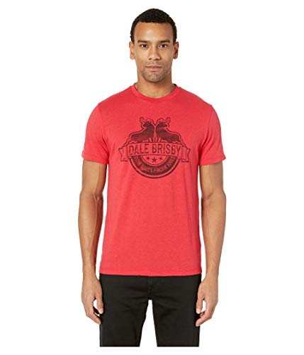 Rock and Roll Cowboy Men's Dale Brisby Solid w/Graphic P9-9019 Red Large