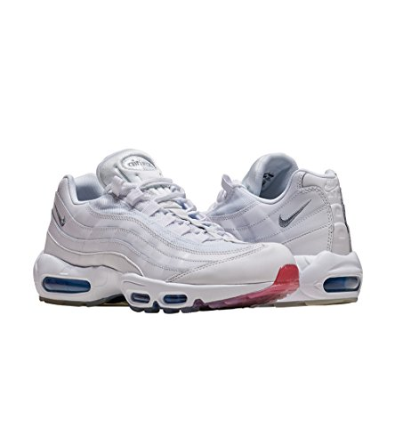 Air Blue nbsp;Prm Scarpe uomo White Nike photo Nero Silver 95 Max Metallic dqwdTP