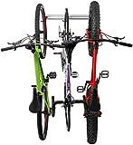 Bike Wall Rack for 3 Bikes - Adjustable Indoor