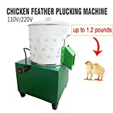 ZXMOTO Small Chicken Plucker De-Feather Plucker
