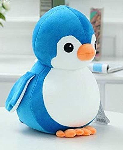 Babique Penguin Teddy Bear Plush Soft Toy Cute Kids Birthday Animal Baby Boys/Girls (28 cm, Blue) 2