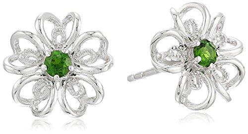 sterling-silver-black-stud-earrings
