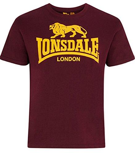 Lonsdale Men´s Regular-Fit Classic Lion Logo