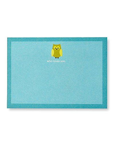 Gartner Studios 'Who Loves You' Owl Sticky Notes, 50 Count ()