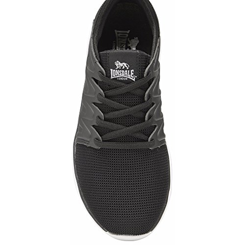 Lonsdale Women's Peru Multisport Outdoor Shoes Black/Charcoal jz8PbSDNR8