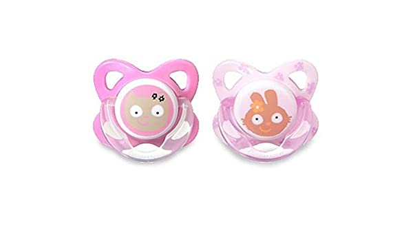 Tommee Tippee Funky Face Latex Soothers 6 - 12m: Amazon.es: Bebé