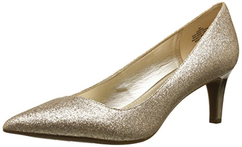 Anne Klein Women's Barb Dress Pump, Taupe, 7 M US