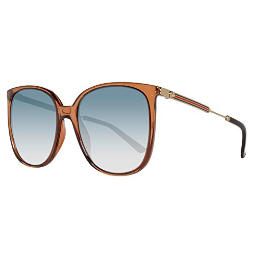 Gucci Oversize Blue Gradient Sunglasses