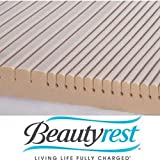 Beautyrest GeoMatt Therapeutic Foam Mattress Pad, King Size (B831OS)