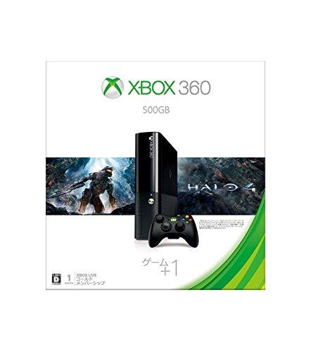 XBOX360本体 500GBバリューパック(Halo4同梱版)