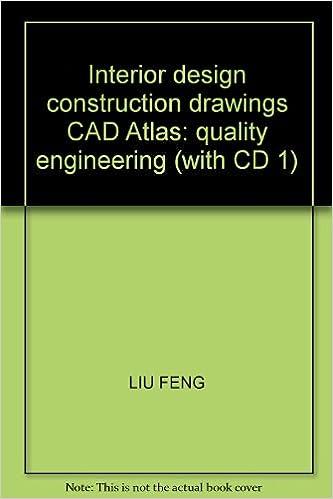 Interior design construction drawings CAD Atlas: quality