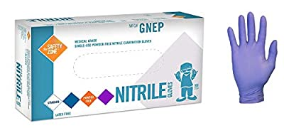 The Safety Zone GNEP - 1P Nitrile Exam Gloves