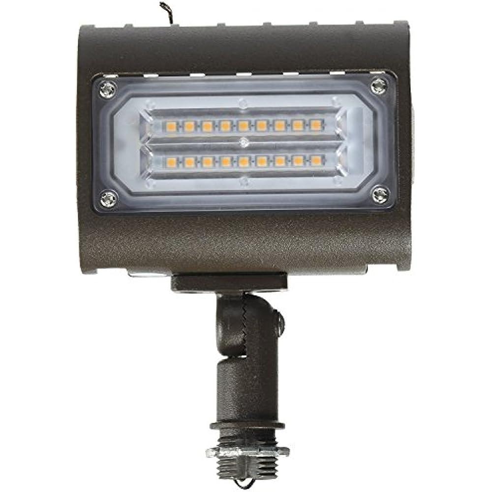 71552 15W 3000K LED Flat Panel Flood Light With 1/2 ...