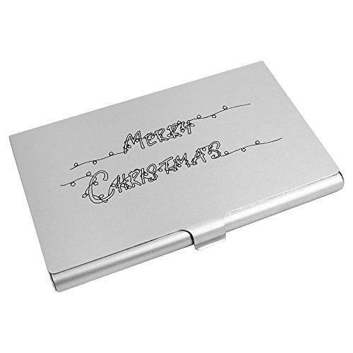 Card Christmas Holder Card Azeeda Wallet CH00002460 Lights' Credit Business 'Merry Hcvc5q0