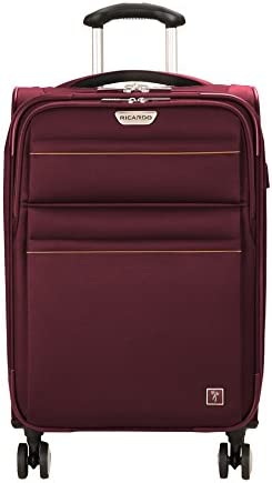 Ricardo Beverly Hills Mar Vista 2.0 21-Inch Spinner Carry On Luggage Wine