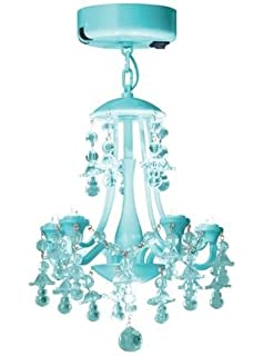 Blue locker lookz led school locker chandelier with motion sensor aqua locker chandelier aloadofball Images