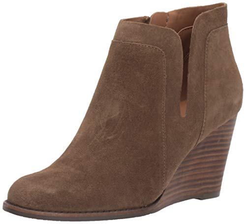 Lucky Brand Women's Yabba Ankle Boot, Antique GREE, 8.5 M US