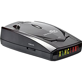 Whistler XTR-130 Laser Radar Detector: 360 Degree Protection, Icon Display, and Tone Alerts