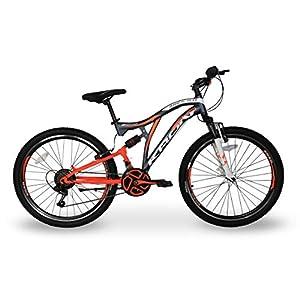 5.0 Bici Bicicletta MTB Ares 26'' Pollici BIAMMORTIZZATA 14 Velocita' Shimano Mountain Bike REVO