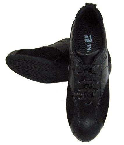 TOTO Black Height Increasing Elevator Shoes Women W1611-2.6 Inches Taller
