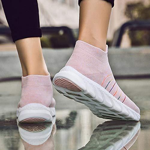 Da Sneakers Donna Rosa Scarpe Per Corsa Sportive Leggere Ginnastica qAqpZ6