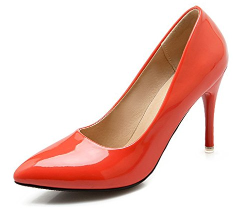 Style Chaussures De Simple Mariage Femme Escarpins Orange Pointues Aisun ZqfBxYwZ
