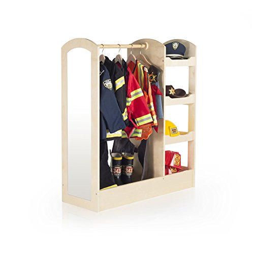 Guidecraft See and Store Dress-Up Center - Natural G98102