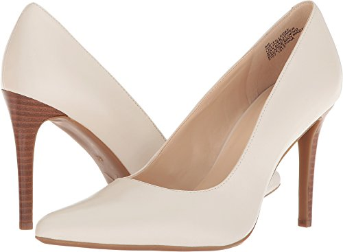 Nine West Women's Filled9X Off-White Leather 8.5 M US