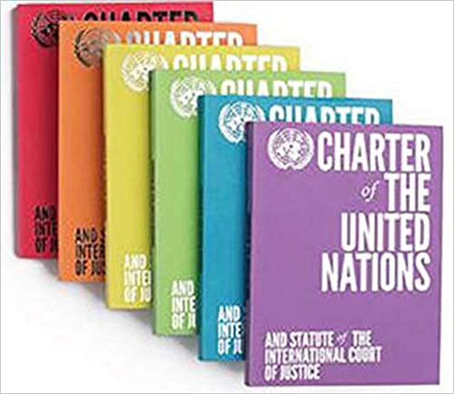 Book's Cover of Charter of the United Nations and Statute of the International Court of Justice (Inglés) Tapa blanda – 11 septiembre 2015
