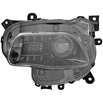 Patriot Headlight Pair w//o Leveling NSF CH2502176 Fits 2007-2010 Jeep Compass