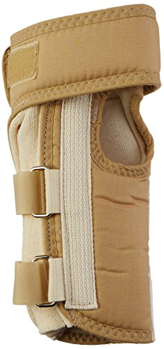 Rolyan A6123 D-Ring Wrist Brace with MCP Support, Left, S...