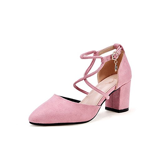 Rosa 1TO9 35 Sandali Donna con Zeppa Sconosciuto Pink fX1w1