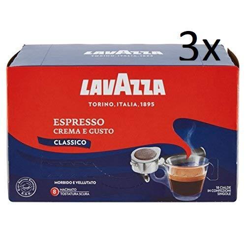 Monodosis ESE Lavazza 44 mm Degustación 72 Capsulas: Amazon.es ...