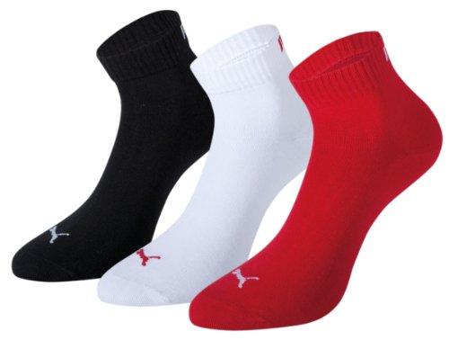 De negro Para Rojo Deporte Puma blanco Hombre 251015 Calcetines qOFOP7E