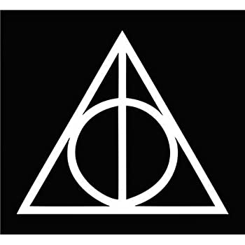 Amazon Deathly Hallows Symbol Harry Potter Apple Macbook