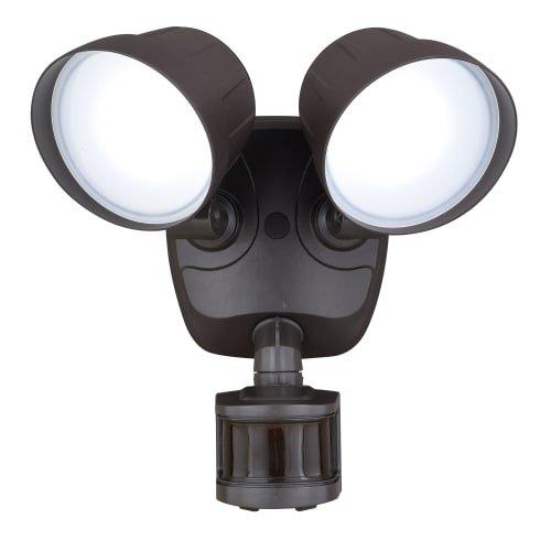 Delta 2 Light - Vaxcel Delta Dualux 2-Level LED Motion Sensor Security Light