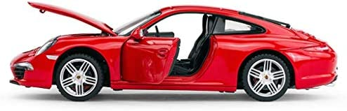 YN モデルカー シミュレーションモデルカー1:24ポルシェ911モデルカートイカーキッズホリデーギフトコレクション ミニカー (Color : BLACK)