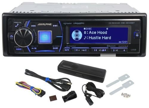 Alpine Cde-hd149bt Car Cd/hd Radio Receiver with Advanced Bluetooth Cdehd149bt by P3 Car Audio