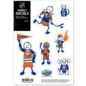 NHL New York Islanders Family Decal Set, Small ()