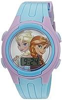 Disney Girl's Quartz Blue Casual Watch (...