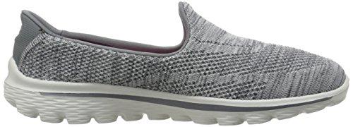 Skechers Go Walk 2hypo - Zapatillas Mujer gris